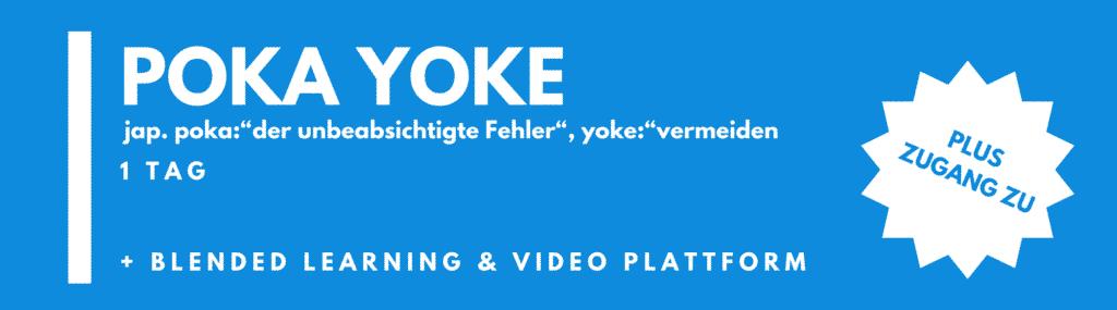 POKA YOKE Seminar / Schulung