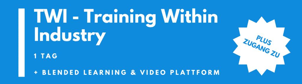TWI Seminar | TWI Schulung | Training (1 Tag)